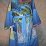Georgia O'Keeffe Inspired Custom Kimono