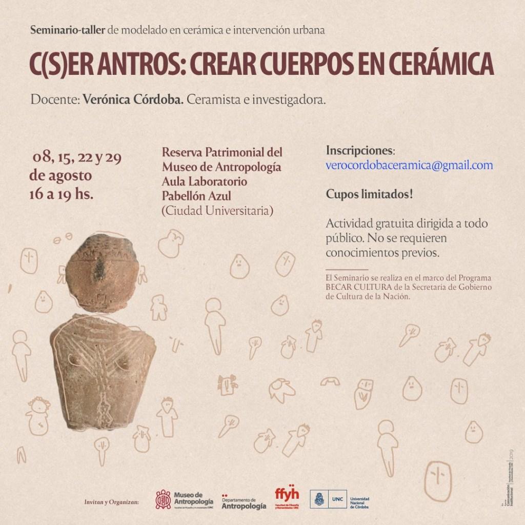 C(S)ER ANTROS: CREAR CUERPOS EN CERÁMICA