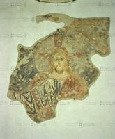 Maestro del 996, Maiestas Domini: Cristo, 996, pittura murale staccata
