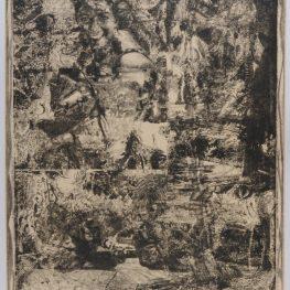 Paolo Ciampini Le temps passe et les souvenirs restent, 2010, acquaforte, mm 880x650