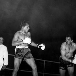 16. Pugilato. Alphonse Halimi contro Piero Del Papa, campione dei pesi mediomassimi dal 1962 al 1964