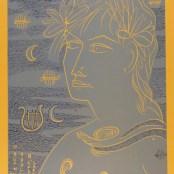 33. Tono Zancanaro, O buon Apollo, litografia, mm740x500, 1964