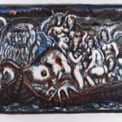 69. Tono Zancanaro, Caron Dimonio, litografia, mm700x810, 1966