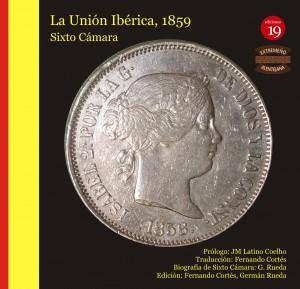 """Portada de la edición bilingüe de """"La unión ibérica"""", de Sixto Cámara"""