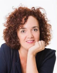 La autora de la novela, Anabel Rodríguez