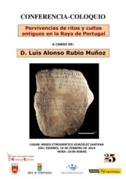 """Museo Etnográfico """"González Santana"""". Olivenza. Extremadura. Charla Luis Alonso Rubio Muñoz"""