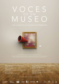 Cartel Voces de un Museo