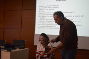 Miguel Ángel Vallecillo, Director del Museo, durante su intervención