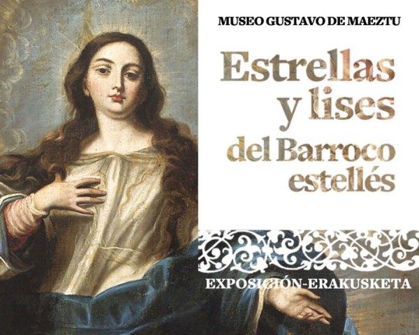 Estrellas y lises del barroco estellés. (Colección del siglo XVIII del ayuntamiento de Estella-Lizarra). Exposiciones Museo Gustavo de Maeztu