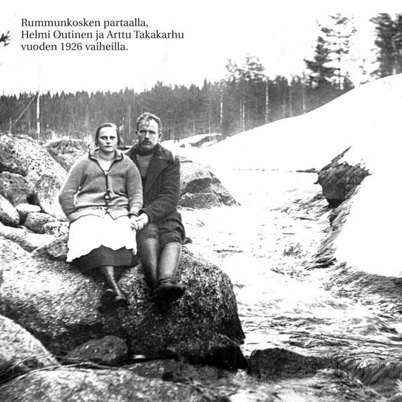 Helmi Outinen ja Arttu Takakarhu
