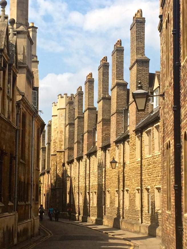 Cambridge. And not a punt or a college in sight!