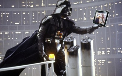 """Amazon Bookstores – Darth Vader at an Ewok christening"""