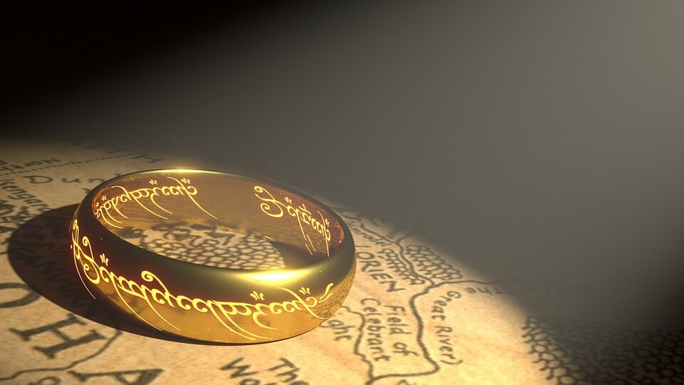 """One ring to""... you know the rest hobbit-lovers."