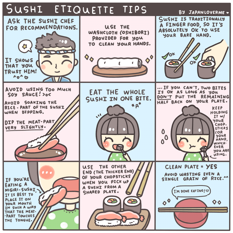 Learn How To Eat Sushi The Right Way Muse Thai Bistro