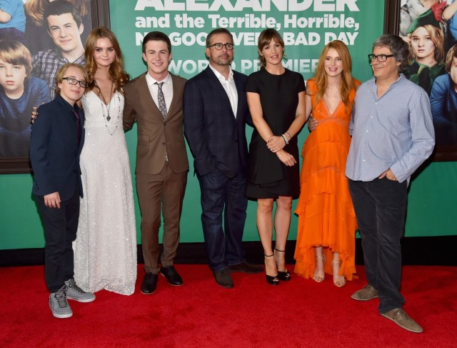 """The World Premiere of Disney's """"Alexander and the Terrible, Horrible, No Good, Very Bad Day"""" - Red Carpet"""