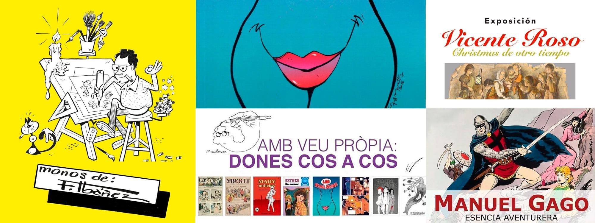Exposiciones temporales Museu del còmic