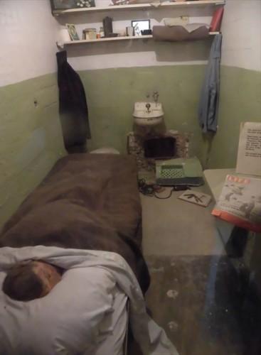 実際にあった脱獄の様子を再現したもの
