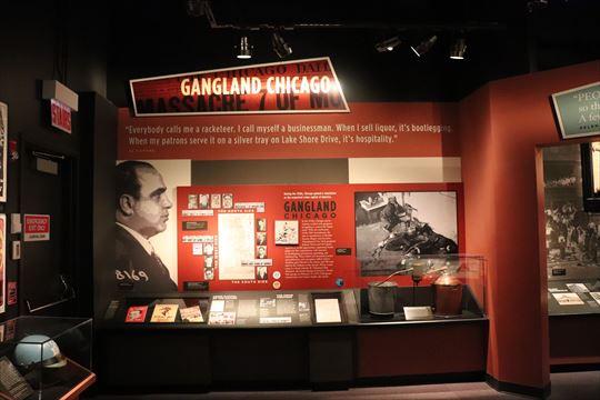 シカゴはアル・カポネなど禁酒法時代のギャングでも有名です