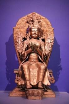 仏像も展示されています。やはり自然史博物館という範疇にはおさまりません