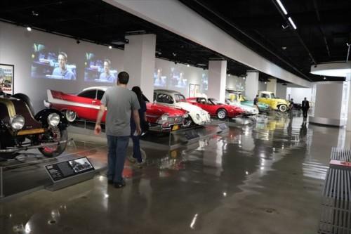 名車の数々が展示されています