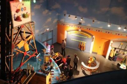 チルドレンズ・ミュージアム的な展示コーナー