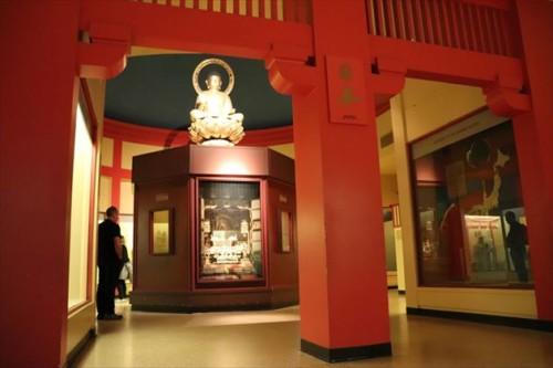 日本の民族・文化人類学的な展示も充実しています