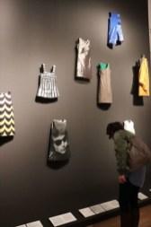ファッションの企画展が行われていました