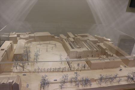 美術館の模型