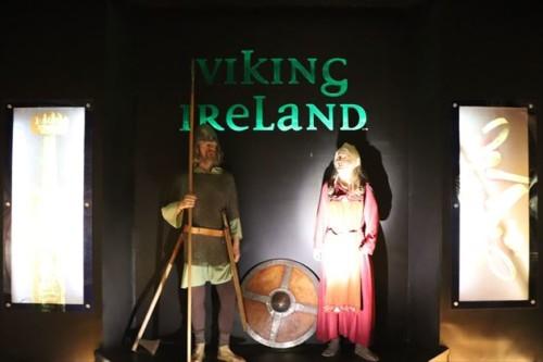 北海沿岸国では定番ともいえるヴァイキングに関する展示(アイルランドは厳密には北海沿岸国ではないですが)
