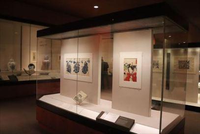 浮世絵の展示もあります