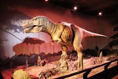 動く恐竜もいます