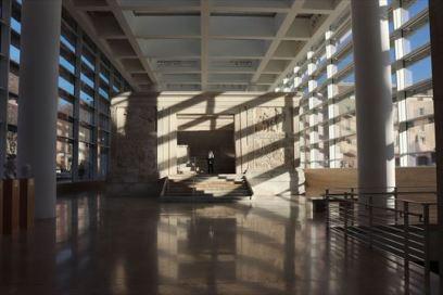 アラ・パキス博物館。平和の祭壇が復元展示されています