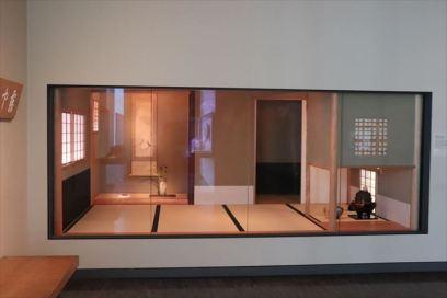 茶室の再現展示