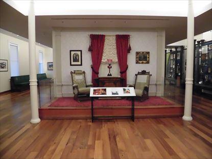 アナハイムのディズニーランドにあったウォルトの部屋