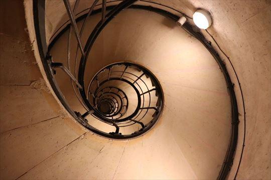 螺旋階段が美しく感じました