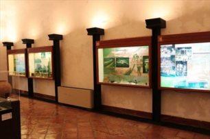 資料館的な展示スペース