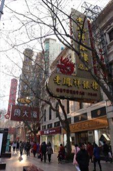 ここを歩いていると、上海の豊かさを感じられるような気がします