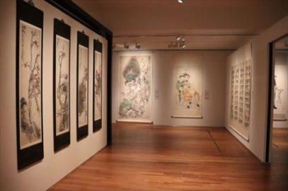 水墨画(?)の展示など東洋美術に関する展示もあります