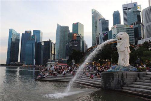 シンガポールらしい風景