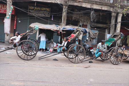 ムンバイのリキシャー