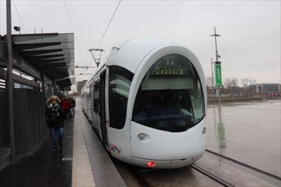 リヨンの路面電車(トラム、LRT)