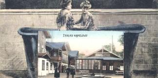 Рекламна листівка курорту, початок ХХ століття