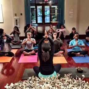 Yoga in the Museum Resumes September 14