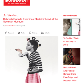 BURNAWAY Review: Deborah Roberts Examines Black Girlhood at the Spelman Museum
