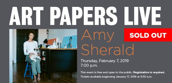 ART PAPERS LIVE: Amy Sherald