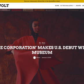 Quaint Revolt: 'BLACK IMAGE CORPORATION' MAKES U.S. DEBUT WITH SPELMAN MUSEUM