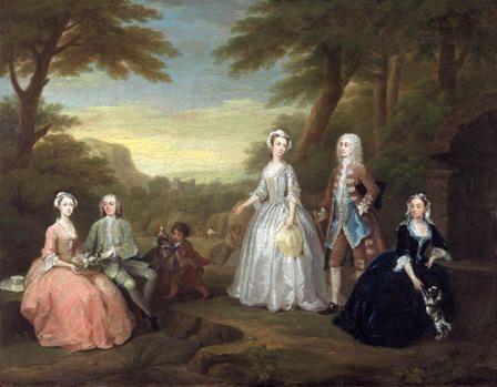 The Jones Family Conversation Piece Art Collections Online