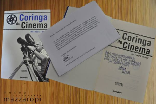Livro Coringa do Cinema  doado por Matheus Trunk