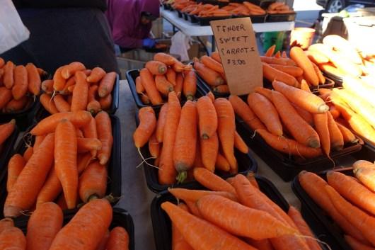 Farmer's Market Carrots