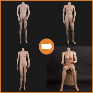 Female museumfigures